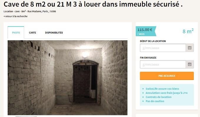 interview de ouistock solution de stockage entre particuliers 2 3 fois mois cher blog. Black Bedroom Furniture Sets. Home Design Ideas