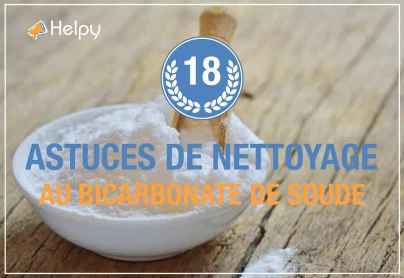 Bicarbonate de soude 18 méthode de nettoyage