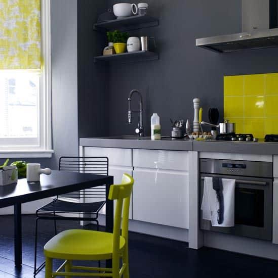 Repeindre la cuisine gray kitchen