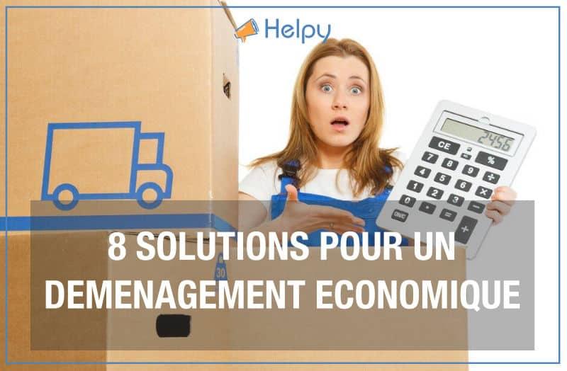 8 solutions pour un demenagement economique