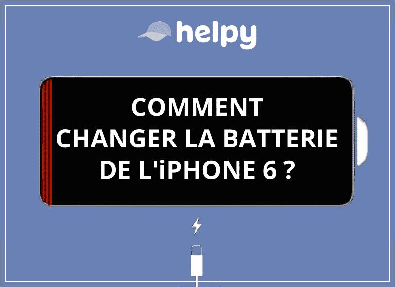Changer la batterie de l'iPhone 6