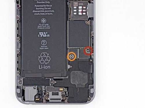 enlever batterie iphone 6
