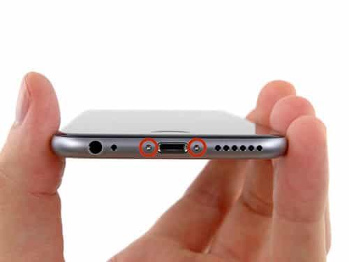 enlever tournavis iphone 6