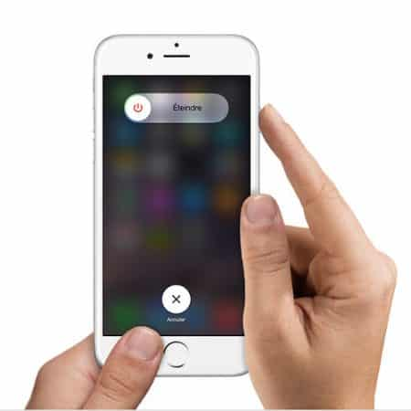 eteindre iphone 6