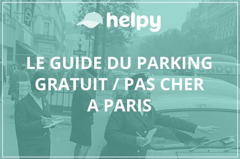 parking gratuit paris