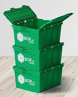 "Les fameuses ""box vertes"""