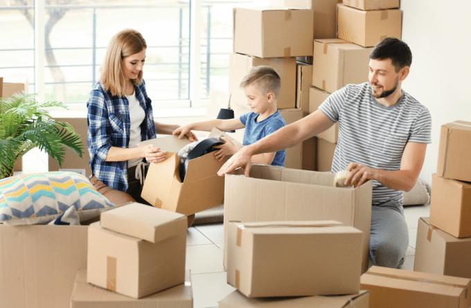 image de prêt immobilier pour le déménagement