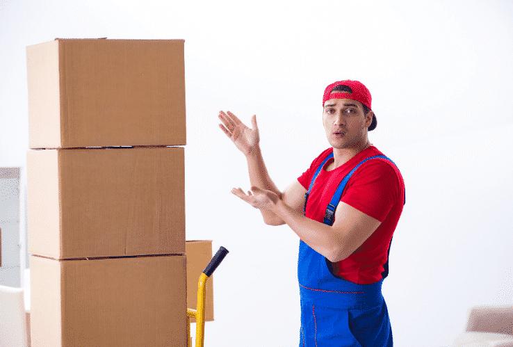 Photo d'un déménageur pro pas cher