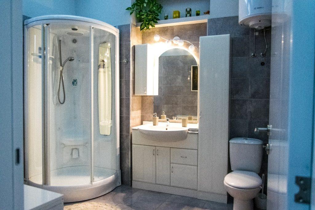 Photo d'une douche à déboucher