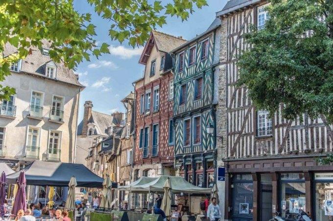 maison à colombages à Rennes