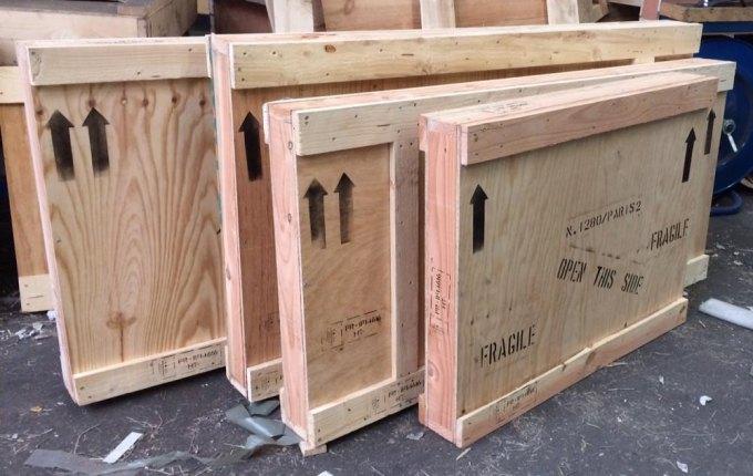 emballage transport œuvre d'art